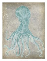 Spa Octopus II Framed Print