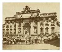 The Trevi Fountain Fine Art Print