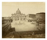 St. Peter's Square Fine Art Print