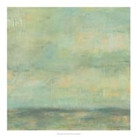 Mint Sky II Fine Art Print