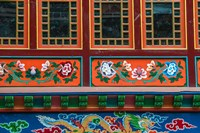 Buddhist temple, Namche Bazaar, Solukhumbu, Nepal. Fine Art Print