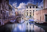 Venetian canal, Venice, Italy Fine Art Print