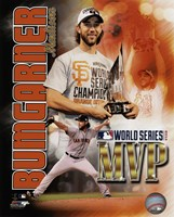 Madison Bumgarner 2014 World Series MVP Portrait Plus Fine Art Print