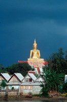Big Buddha Buddhist Temple, Thailand Fine Art Print