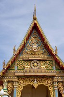 Thailand, Ko Samui, Wat Plai Laem, Temple Fine Art Print