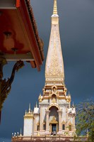 Wat Chalong Buddhist Monastery, Phuket, Thailand Fine Art Print