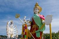 Wat Plai Laem, Ko Samui, Thailand Fine Art Print