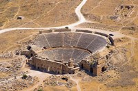 Roman Amphitheater, Ancient Hierapolis, Pamukkale, Turkey Fine Art Print