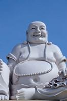 Big Happy Buddha statue, My Tho, Vietnam Fine Art Print
