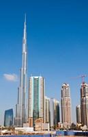 Burj Khalifa, Dubai, United Arab Emirates Fine Art Print
