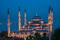 Blue Mosque, Istanbul, Turkey Fine Art Print