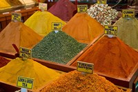 Items for sale in Spice Market, Istanbul, Turkey Fine Art Print