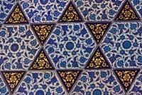 Tile Inside Topkapi Palace, Istanbul, Turkey Fine Art Print