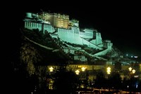 The Potala at Night, Lhasa, Tibet Fine Art Print