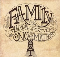 Family - Always and Forever Fine Art Print