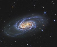 NGC 2903, A Barred Spiral Galaxy in the Constellation of Leo Fine Art Print
