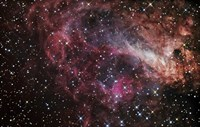 The Omega Nebula Fine Art Print