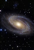 Messier 81, A Spiral Galaxy in the Constellation Ursa Major Fine Art Print