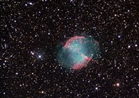 The Dumbbell Nebula Fine Art Print