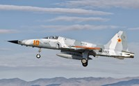 Side view of a F-5N Freedom Fighter aircraft Fine Art Print