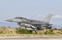 F-16D of the Royal Singapore Air Force Fine Art Print