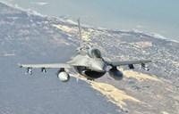 Chilean Air Force F-6D Block 50 over Brazil Fine Art Print