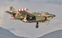 T-2 Buckeye of the Hellenic Air Force at Kalamata Air Base, Greece Fine Art Print