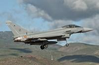Eurofighter Typhoon of the Spanish Air Force Fine Art Print