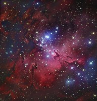 Messier 16, The Eagle Nebula in Serpens Fine Art Print