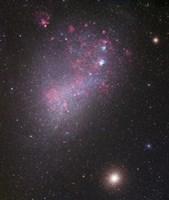 Small Magellanic Cloud (close up) Fine Art Print