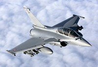Dassault Rafale B of the French Air Force Fine Art Print