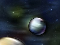 Planets in Space Fine Art Print