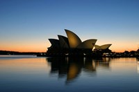 Sydney Opera House at Dawn, Sydney, Australia Fine Art Print
