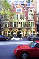 Collins Street, Melbourne, Victoria, Australia Fine Art Print