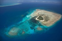 Green Island, Great Barrier Reef, Queensland, Australia Fine Art Print