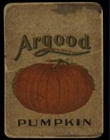 Vintage Pumpkin Framed Print