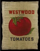 Vintage Tomatoes Framed Print