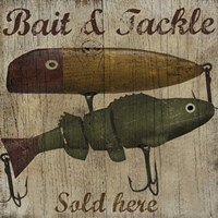Bait & Tackle Framed Print