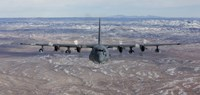 Front View of a MC-130 Aircraft Fine Art Print