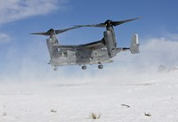 CV-22 Osprey Takes Off Fine Art Print