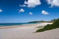 Australia, Byron Bay's beautiful turquoise beaches Fine Art Print