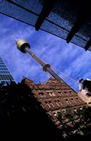 AMP Tower and Highrises, Sydney, Australia Fine Art Print