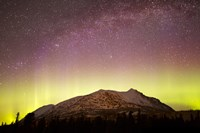 Aurora Borealis, Comet Panstarrs and Milky Way over Yukon, Canada Fine Art Print