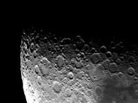 Lunar Craters Clavius, Moretus, and Maginus Fine Art Print