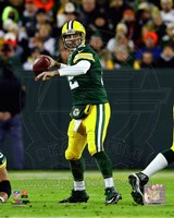 Aaron Rodgers 2014 Green Bay Packers Fine Art Print