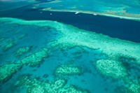 Australia, Whitsunday Coast, Great Barrier Reef (horizontal) Fine Art Print
