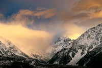 Sunrise at Aoraki Mount Cook, New Zealand Fine Art Print
