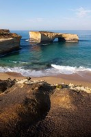 Australia, Port Campbell, Tasman Sea, cliffs Fine Art Print
