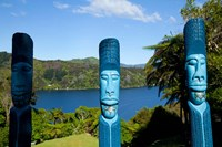 Lochmara Lodge, Marlborough Sounds, New Zealand Fine Art Print