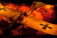 War Plane, Blenheim, Marlborough, New Zealand Fine Art Print